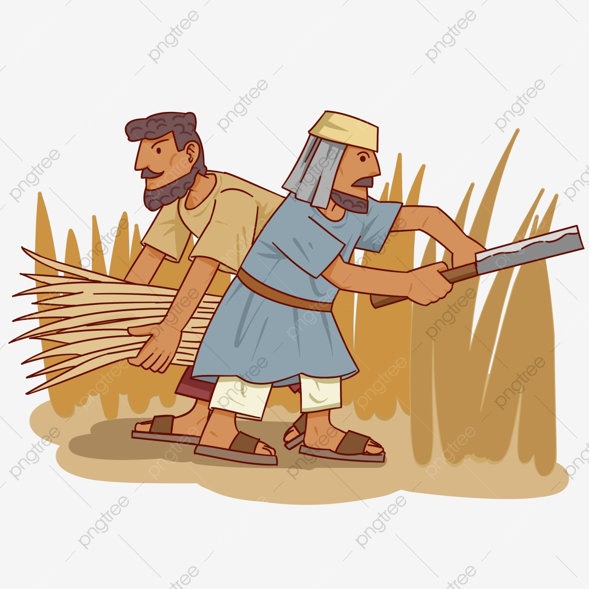 Farmer Harvest Rice Vector Design. Royalty Free Cliparts, Vectors, And  Stock Illustration. Image 77227652.