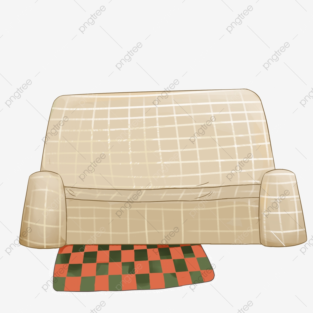 hand painted modern furniture sofa carpet illustration hand painted png transparent clipart image and psd file for free download https pngtree com freepng hand painted modern furniture sofa 3891480 html