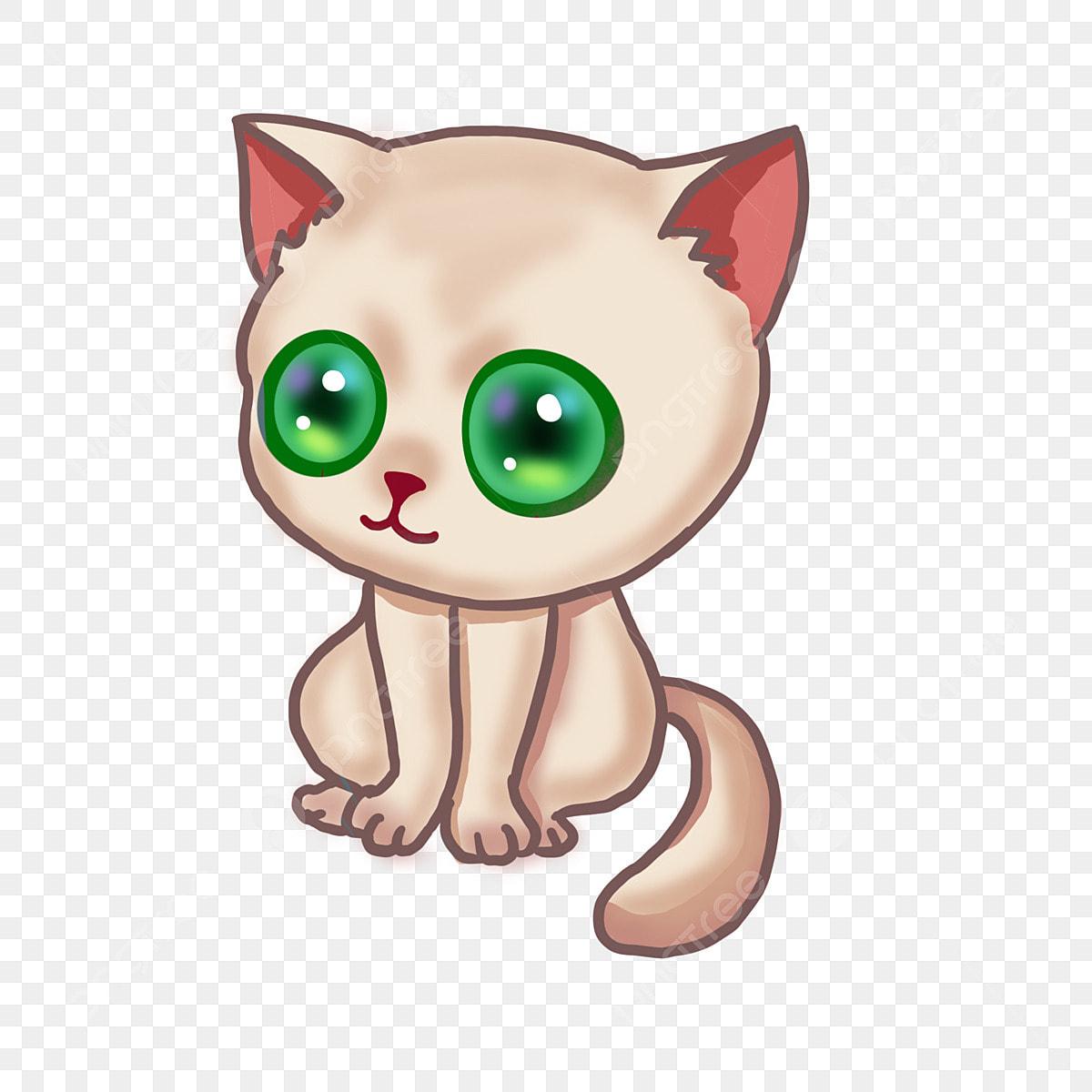 gambar tangan dicat binatang hijau mata mata kucing haiwan ilustrasi kucing mata png dan psd untuk muat turun percuma https ms pngtree com freepng hand painted pet green eye cat eyes 3837812 html