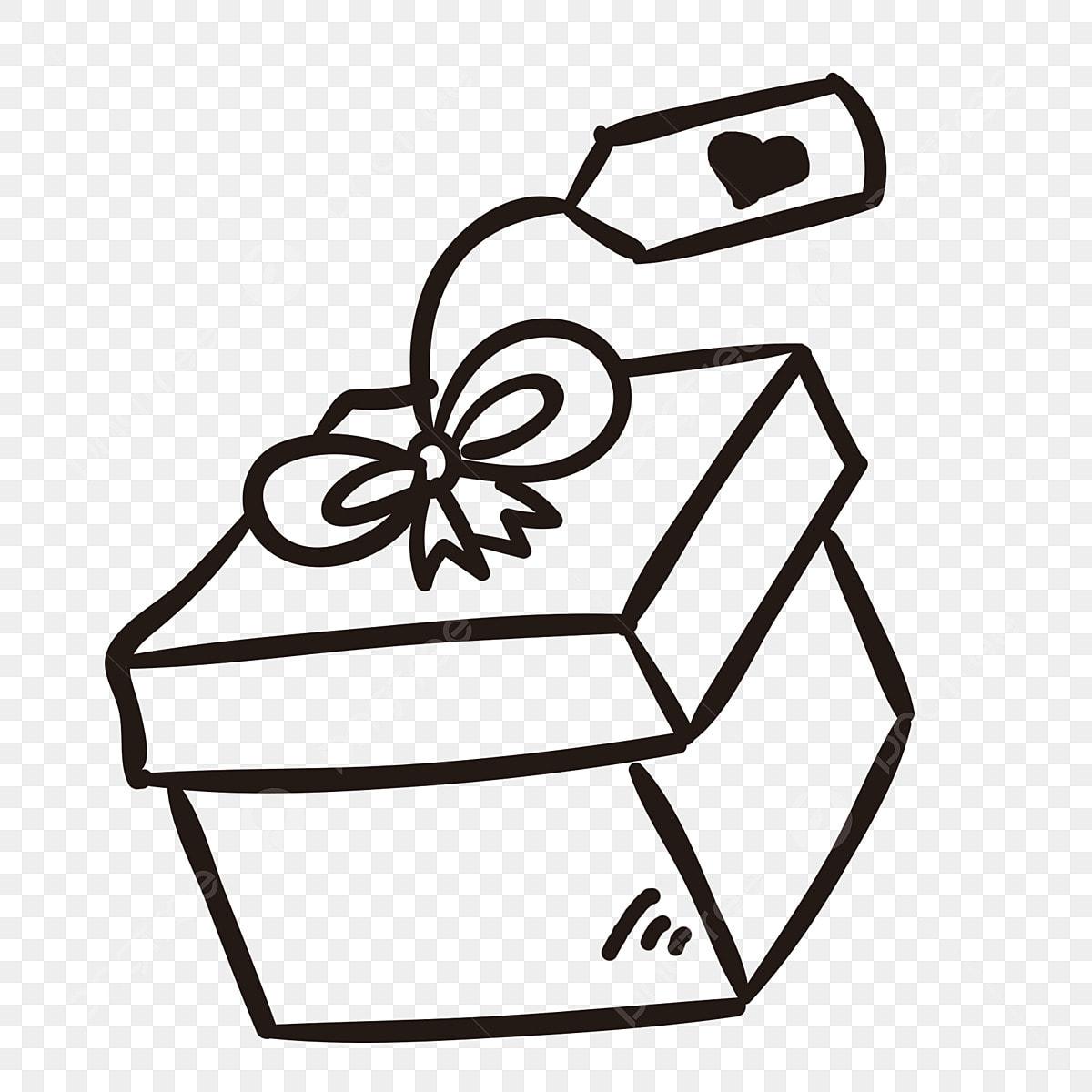 Gambar Lakaran Cinta Hadiah Hari Kanak Kanak Hadiah Hari Kanak Kanak Draf Garisan Hitam Dan Putih Kotak Lakaran Hadiah Hari Kanak Kanak Png Dan Psd Untuk Muat Turun Percuma