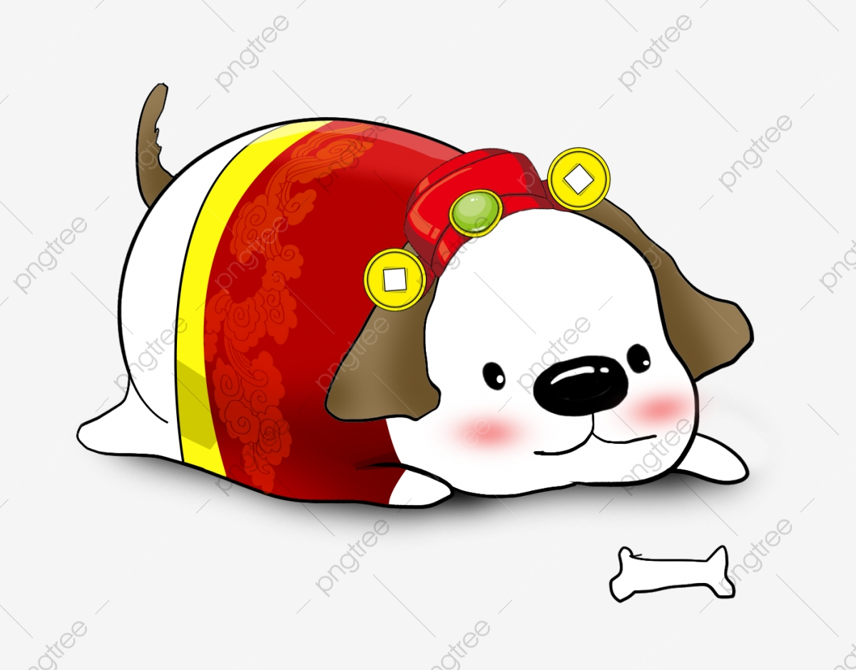 Meng Meng Chubby Dog Dog Cartoon Hand Painted Meng Meng Chubby Dog Png Transparent Clipart Image And Psd File For Free Download