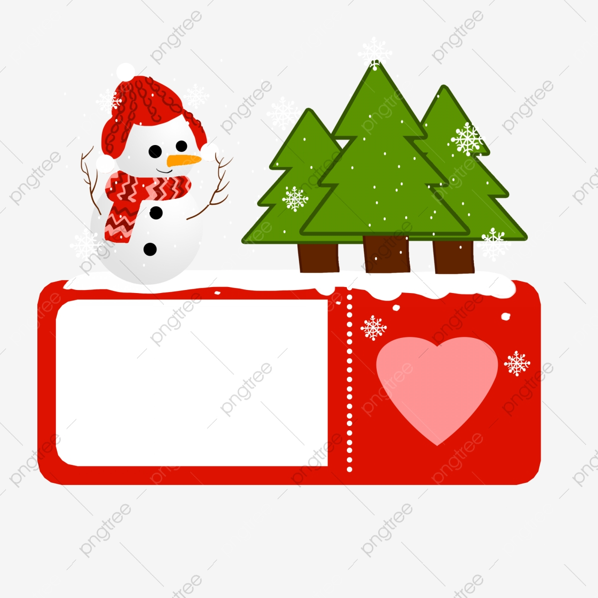 new year christmas tree border beautiful christmas tree border cartoon christmas tree border green christmas tree white snowman decoration png transparent clipart image and psd file for free download pngtree