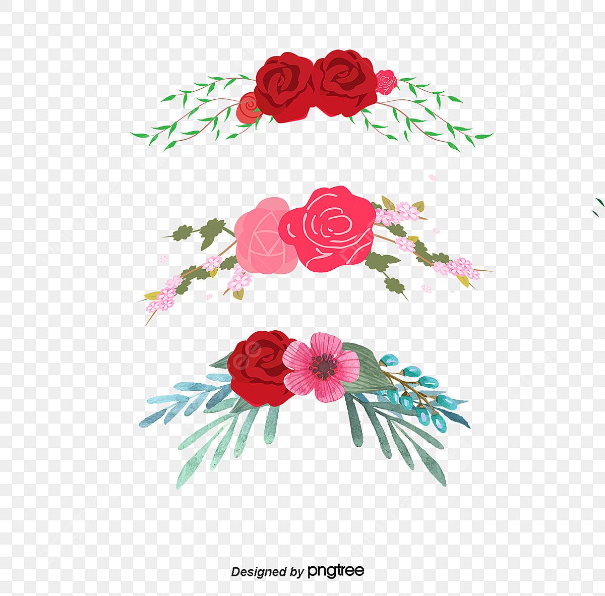 Plant Bordure Décorative Dessin De Létiquette Des Fleurs