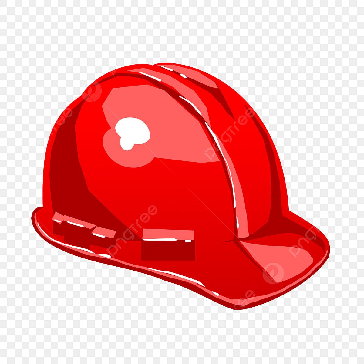 Red Hard Hat Hat Helmet Hard Hat Illustration Hard Hat Hand