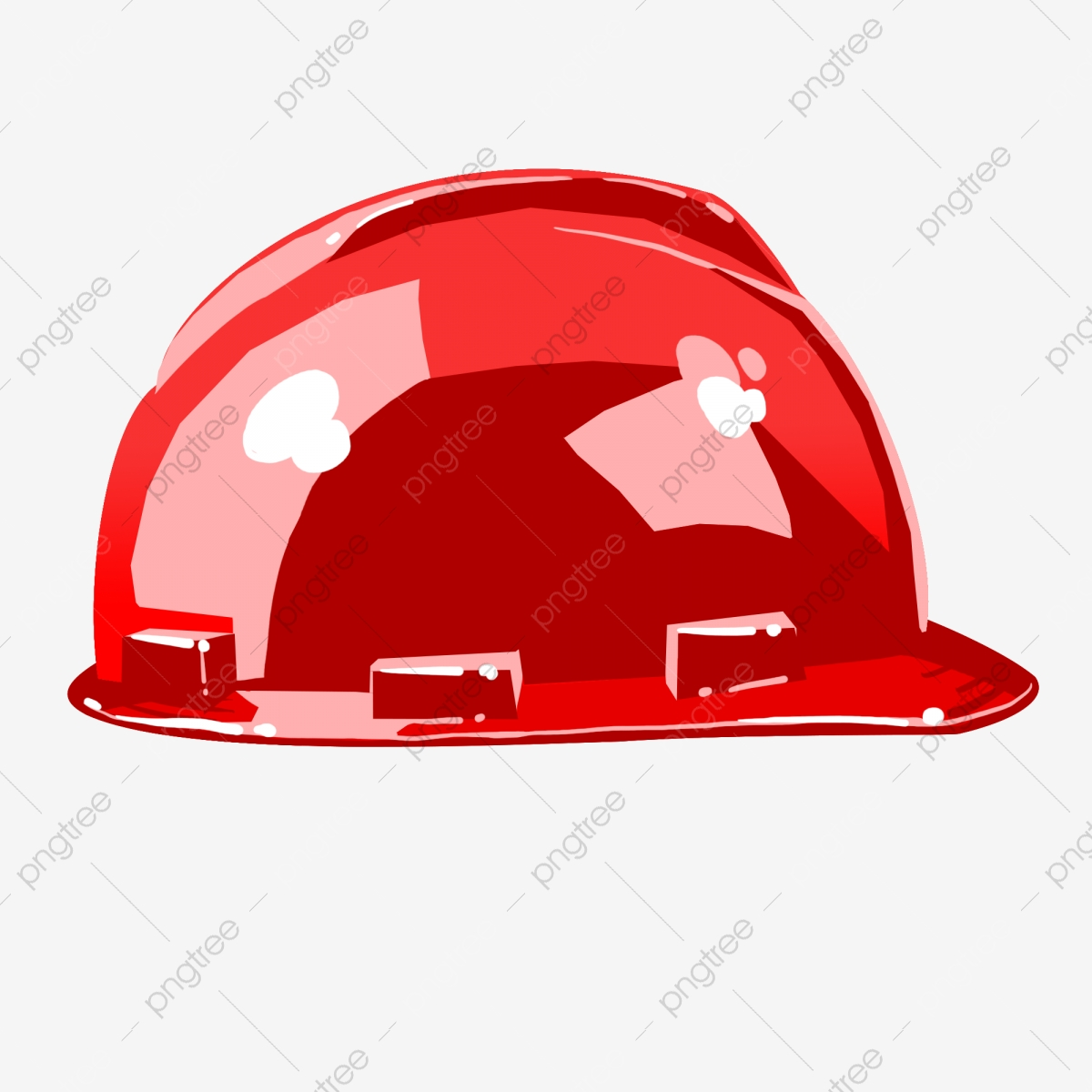 Red Hard Hat Red Big Red Red Hard Hat Shape Safeguard On