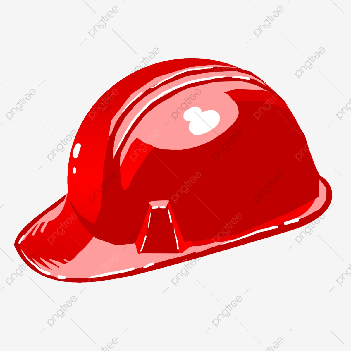 Red Hard Hat Sturdy Helmet Beautiful Hard Hat Exquisite Hard