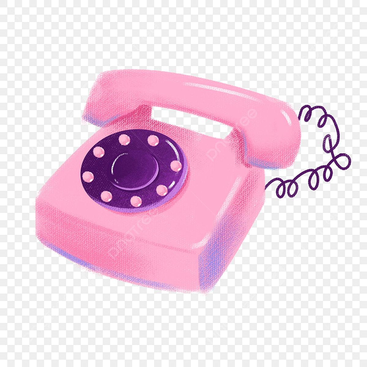 Contact Phone - Transparent Pink Phone Png, Png Download , Transparent Png  Image - PNGitem