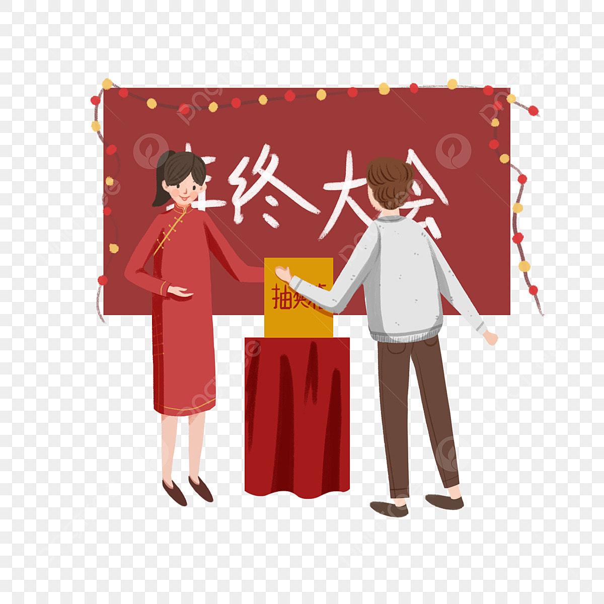 La Boite Jaune Prix illustration du personnage de la réunion table rouge boîte