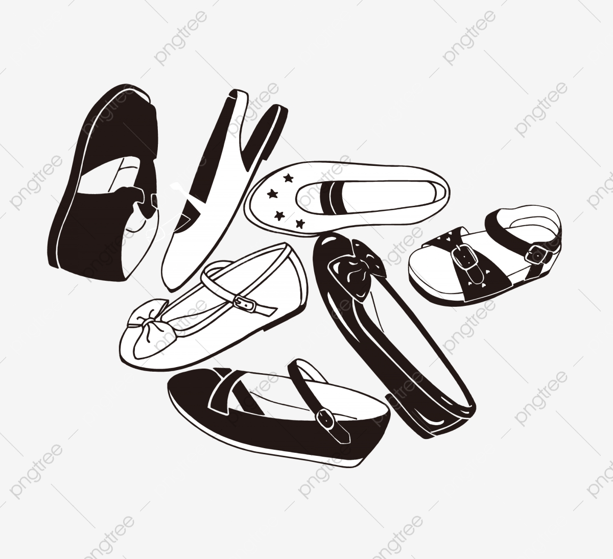 74af40b972b Commercial use resource. Upgrade to Premium plan and get license  authorization.UpgradeNow · shoes line draft shoes black and white ...