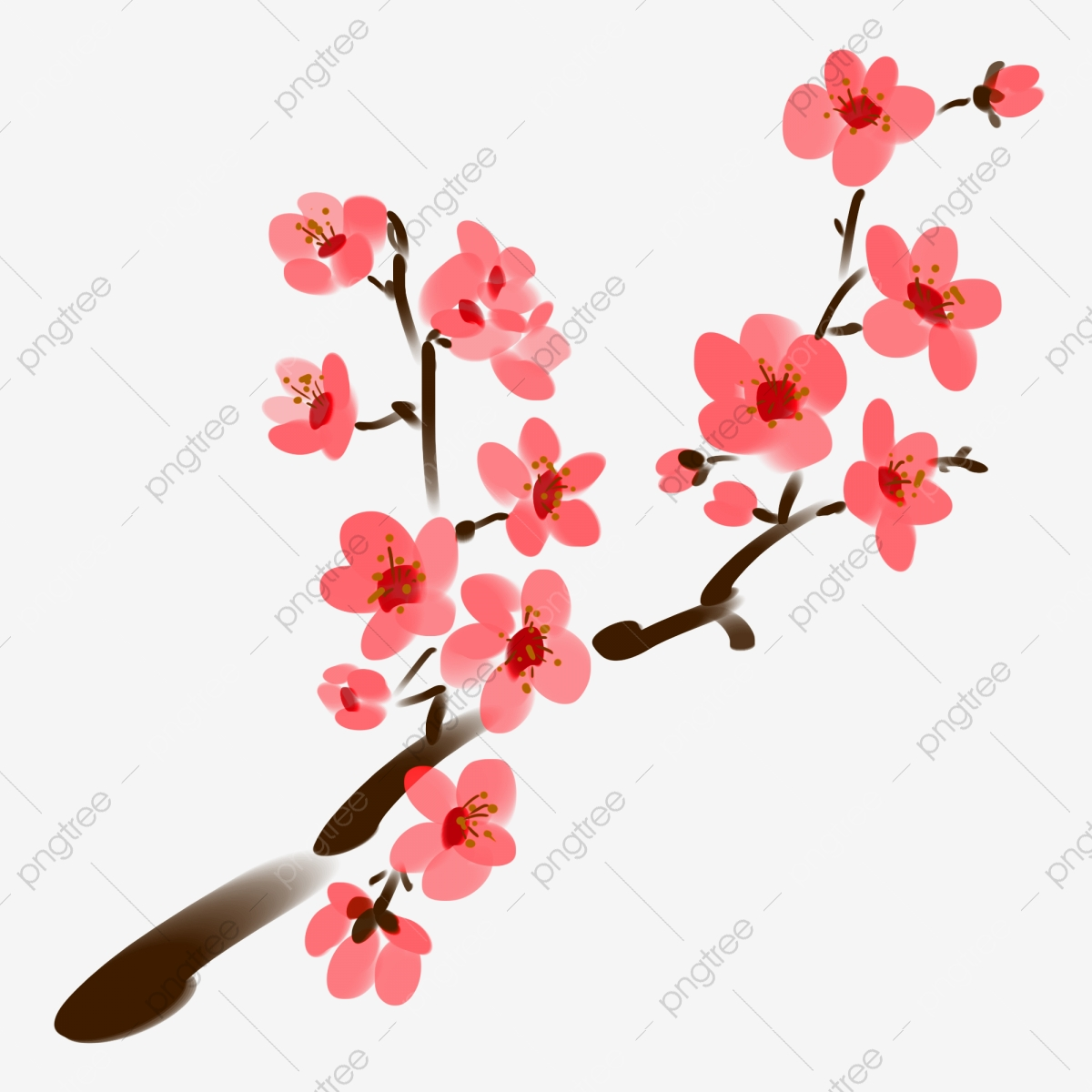 Simple Pink Peach Beautiful Fresh Pink Flowers Pink Small
