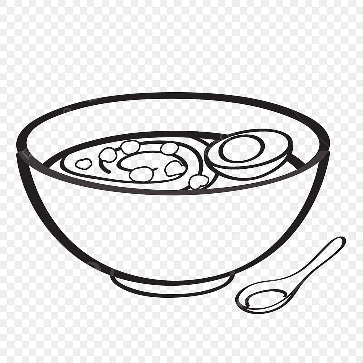 Makanan Lakaran Makanan Yang Ditarik Tangan Lukisan Garis Hitam