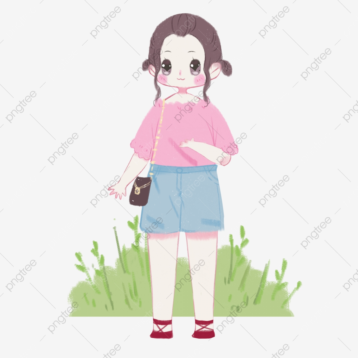 ملابس الصيف الصيف فستان خفيف فتاة الكرتون مباراة الصيف الصيف Png وملف Psd للتحميل مجانا