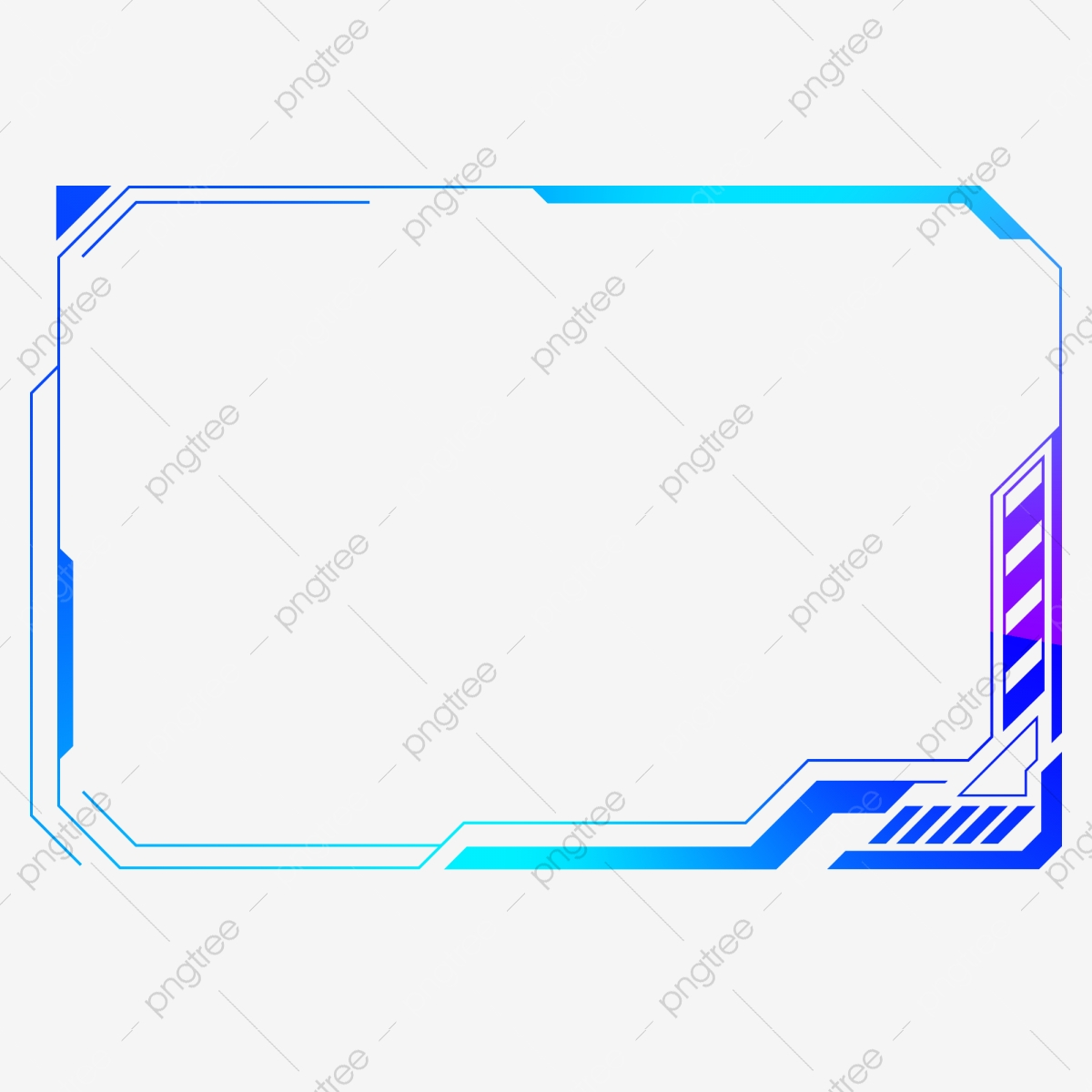 Technology Frame Icon Ui, Ar Technology, High Tech, Graphics PNG