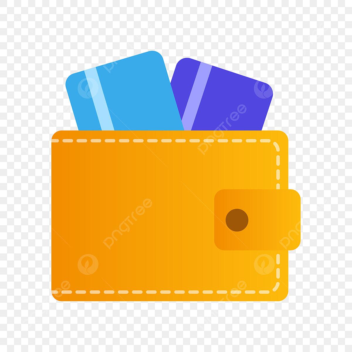 Carte Bancaire Jaune.Sac A Main Jaune Carte Bancaire Bleue Illustration De Dessin