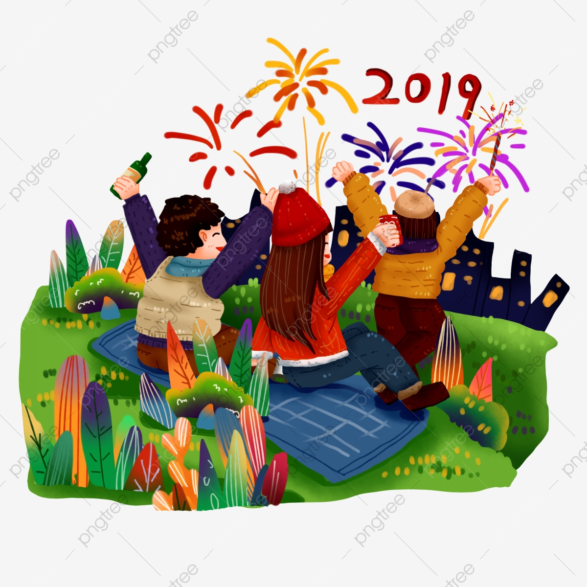 2019 happy new year happy new year new year party festive atmosphere watch fireworks city gathering png transparent clipart image and psd file for free download https pngtree com freepng 2019 happy new year happy new year new year party 3954054 html