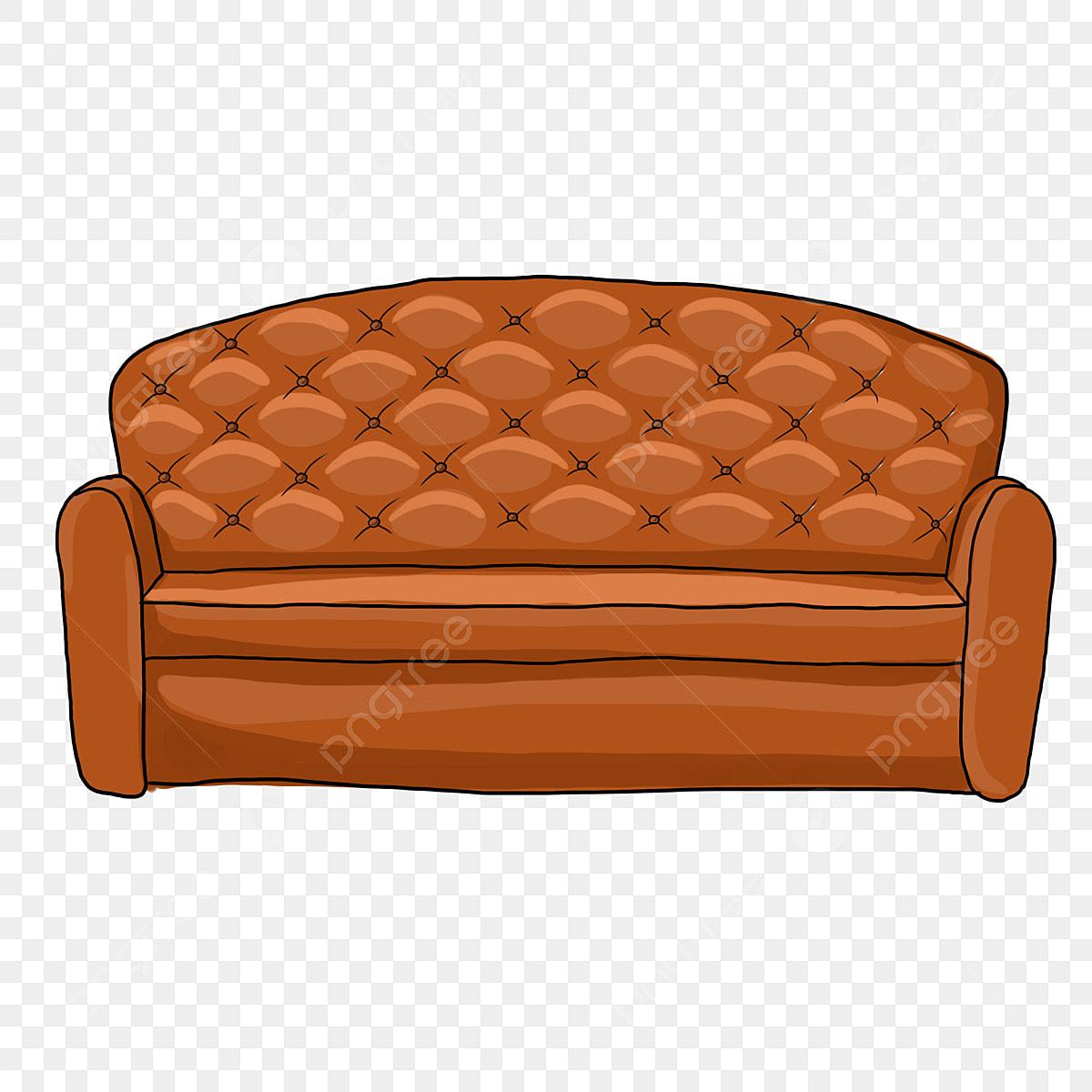 Коричневый диван Диван высокого класса