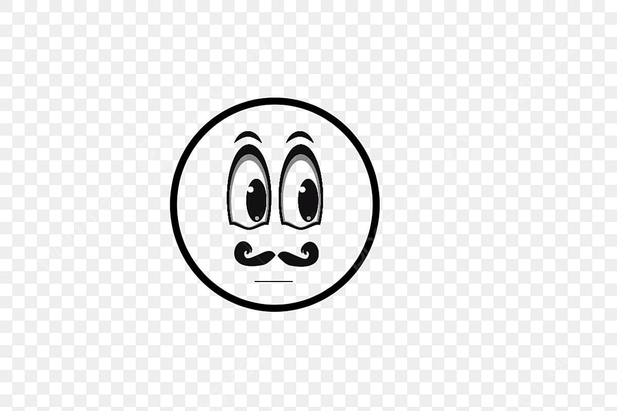 Personagem De Desenho Animado Rosto Redondo Bonito Olhos Grandes