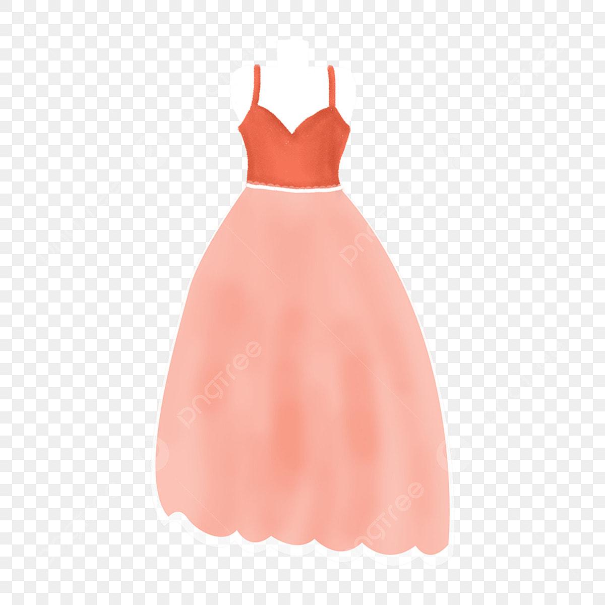 c57871d2d Dibujos Animados Señorita Vestido Largo Falda, De, Largo, Vestido ...