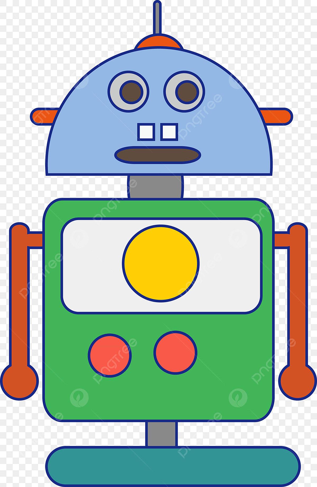 Dibujos Robot Ejemplo Animados Juguete De 2W9DEHI
