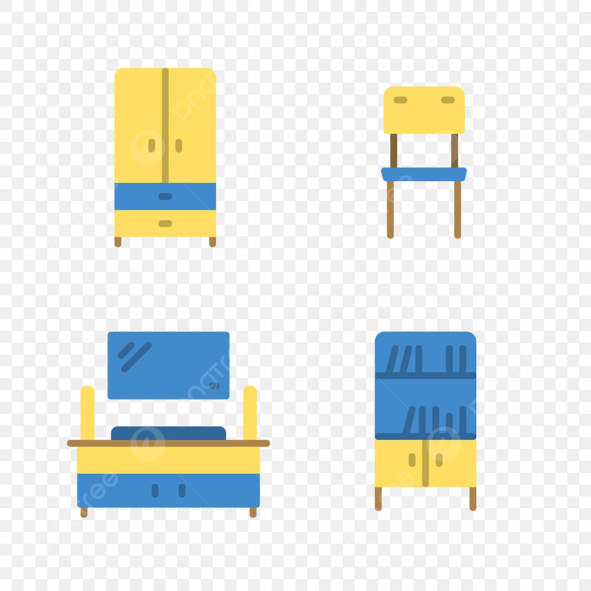 Mobilier De Maison Atmosphère Simple Dessin Animé Mobilier