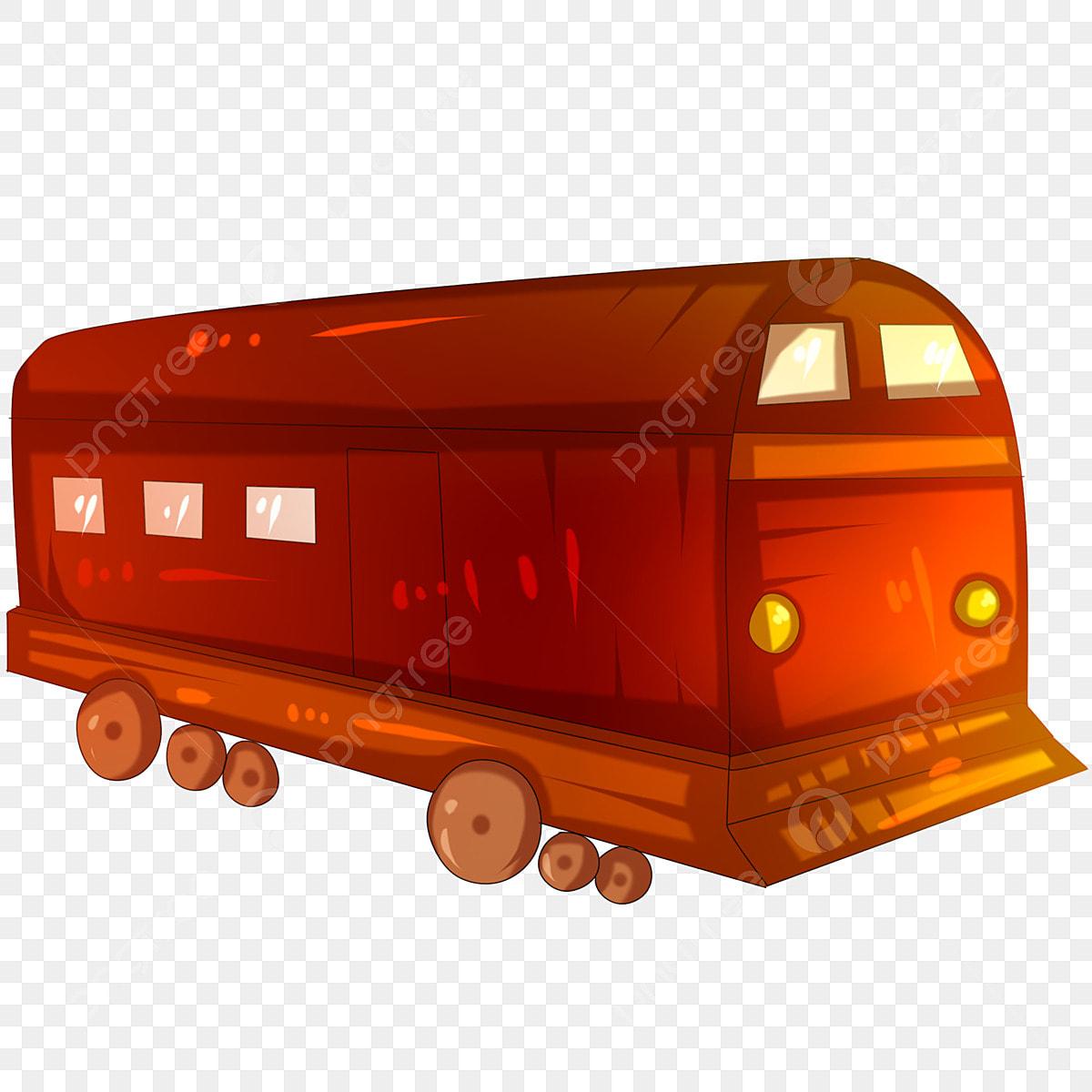 Gambar Kereta Api Kartun Berwarna Gambar Kereta Api Kartun Ilustrasi Kereta Api Merah Coklat Trek Kereta Api Transit Kereta Api Kenderaan Kereta Api Kartun Berwarna Png Dan Psd Untuk Muat Turun Percuma