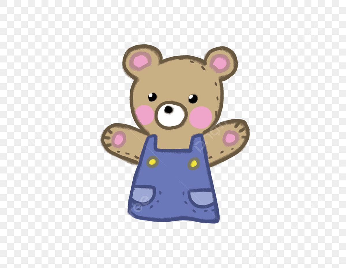 Vento Dos Desenhos Animados Mao Desenhada Bonito Bear Urso
