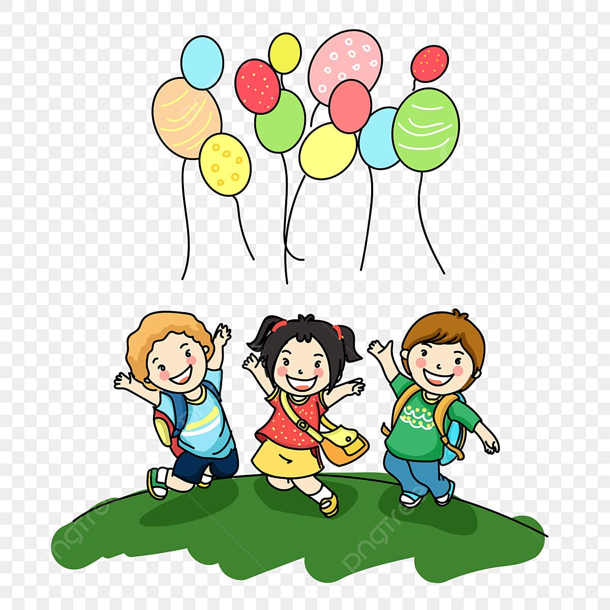 Desenhos Animados Do Dia 6 1 Das Criancas Coloridas Criancas