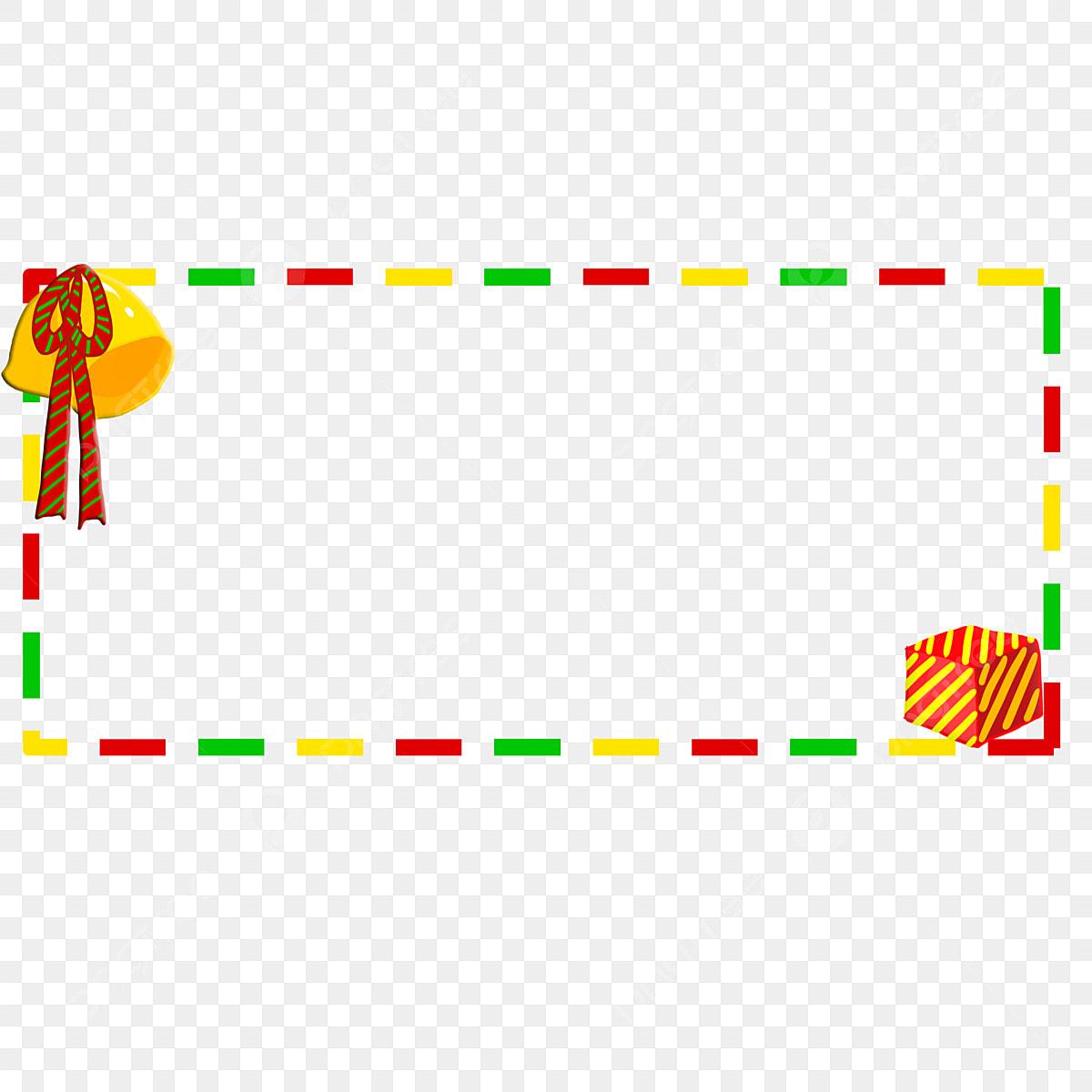 De Noël De Noël Nuit De Noel Bordure En Pointillé De La Page