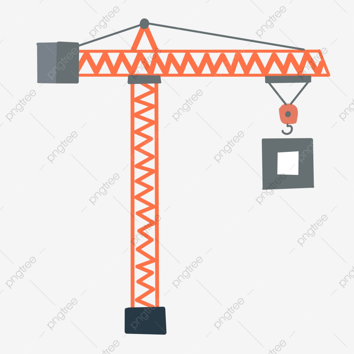 Clip Art Crane Icons - Construction Icons Png , Free Transparent Clipart -  ClipartKey