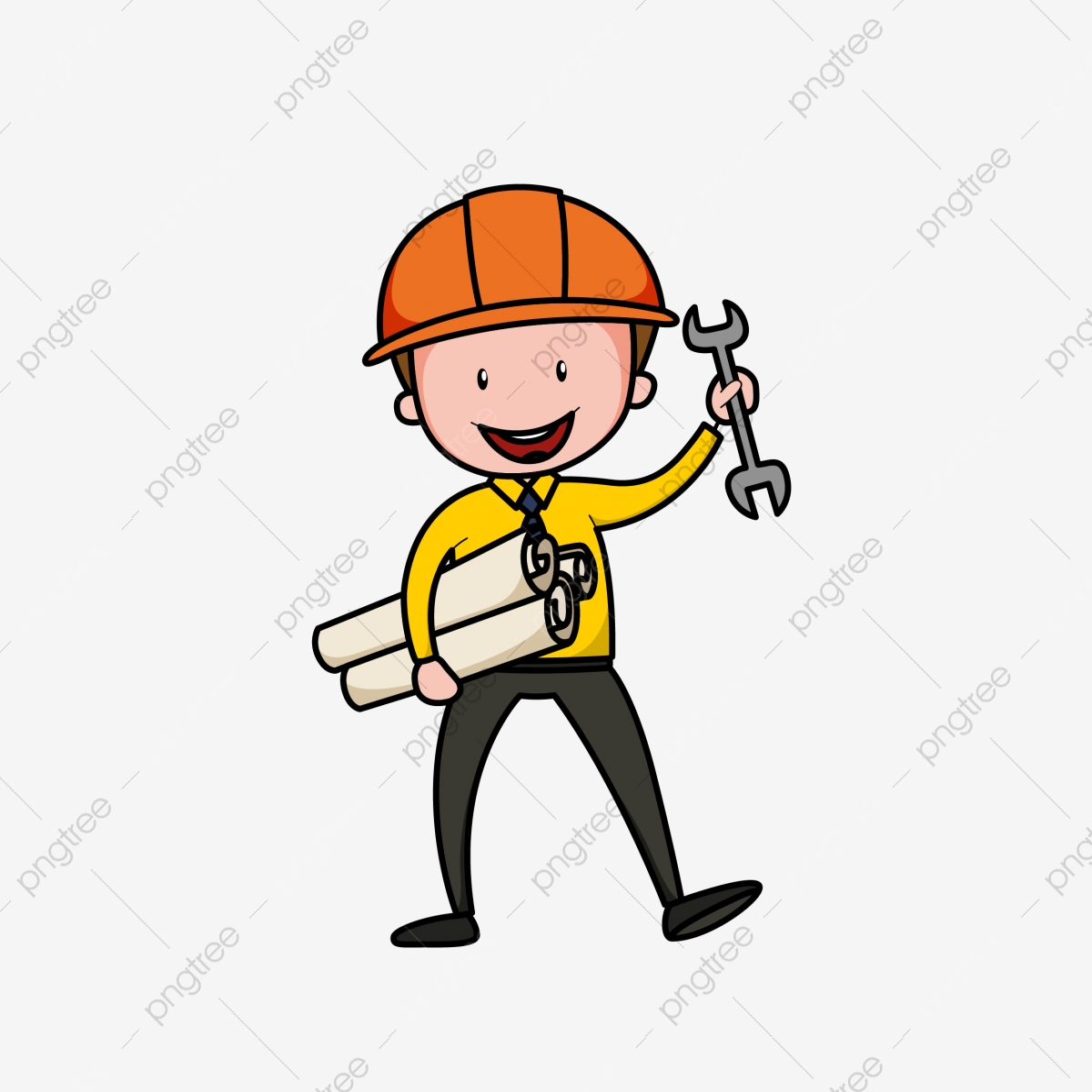 Ingenieur Beruf Des Ingenieurs Karikatur Karikatur