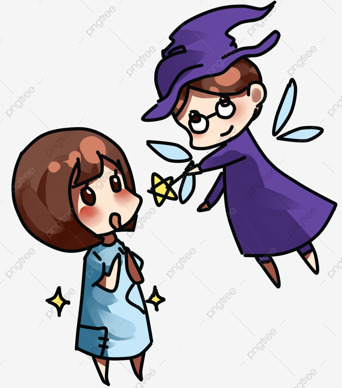 Fairy Tale World Cinderella And Magic Witch Witch Magic