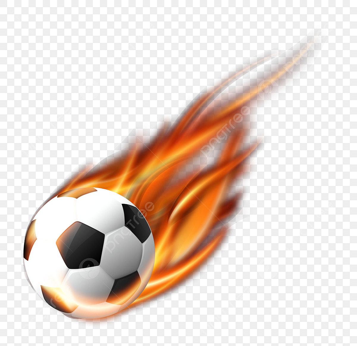 Boule De Feu Effets Spéciaux Ballon De Foot Effets Spéciaux