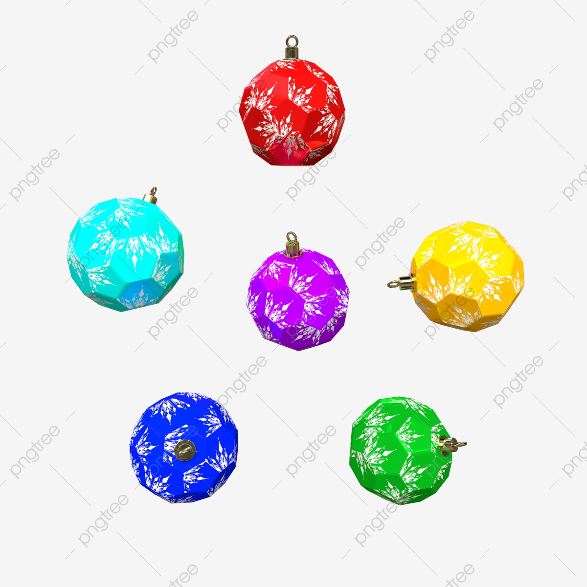 Christmas Bulb Png.Gem Shape Christmas Embellishment Blue Yellow Black Light