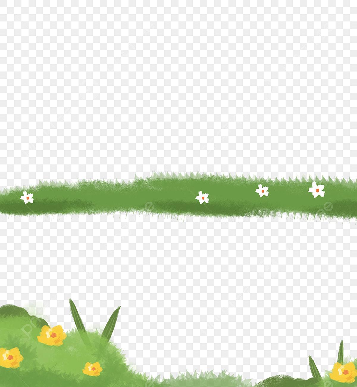 Fiori Bianchi Sottobosco.Sottobosco Pianta Verde Impianto Erba Dipinta A Mano Fiori