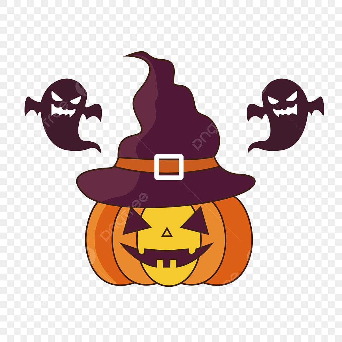Halloween Pumpkin Ghost Terror, Funny, Hd Original