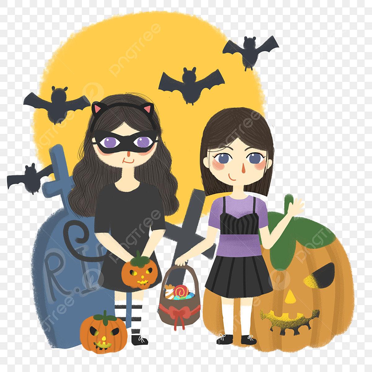 Halloween Couleur Chaude Citrouille Voiture Citrouille La Dessin