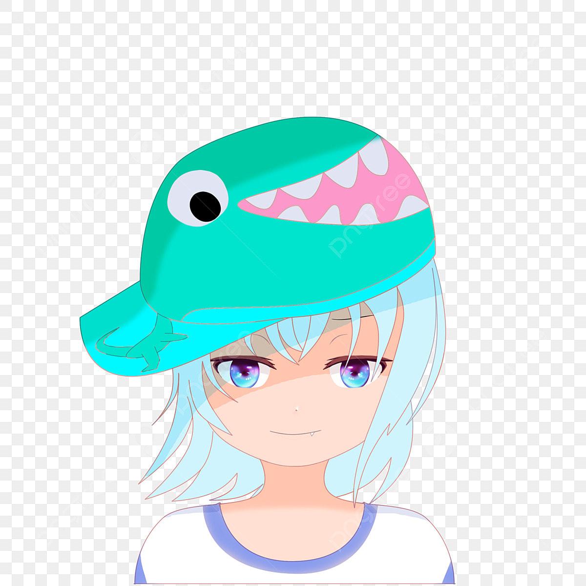 Chapeau Dinosaure Petite Fille Avatar De Dessin Animé