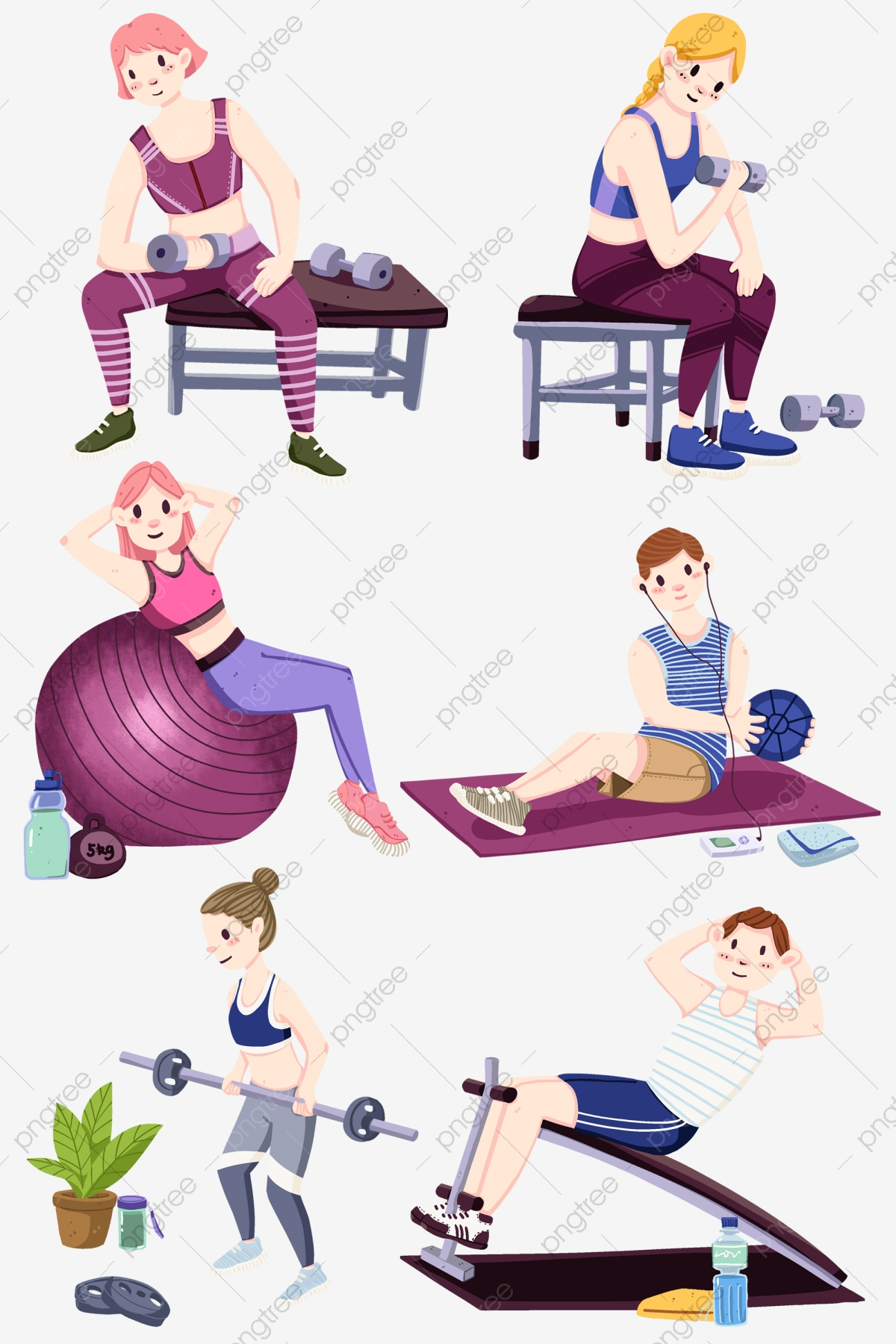 Healthy Body Fitness Woman Sporty Woman Fitness Weight Loss Health Fitness Lose Weight Png Transparent Clipart Image And Psd File For Free Download