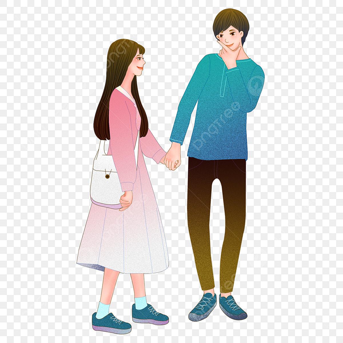 Gambar Pasangan Lukisan Korea Kekasih Pasangan Cinta Pasangan Yang Cantik Korea Pasangan Lukisan Korea Png Dan Psd Untuk Muat Turun Percuma