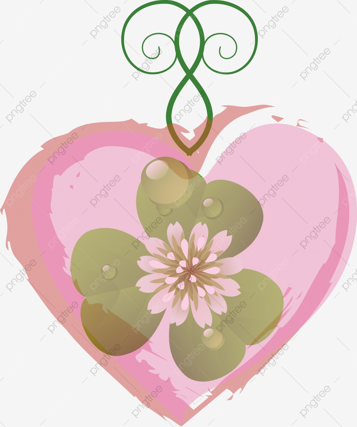 Desenho De Amor Desenho De Trevo Trevo De Quatro Folhas Forma