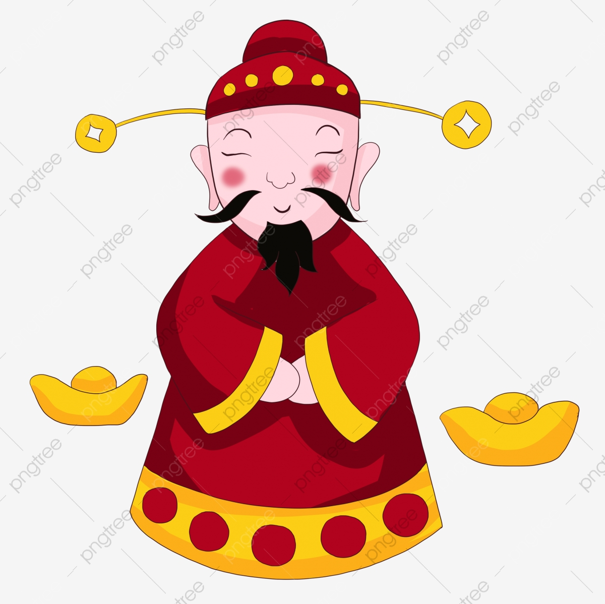 Lucky Fortune God Of Wealth God Of Wealth God Of Wealth