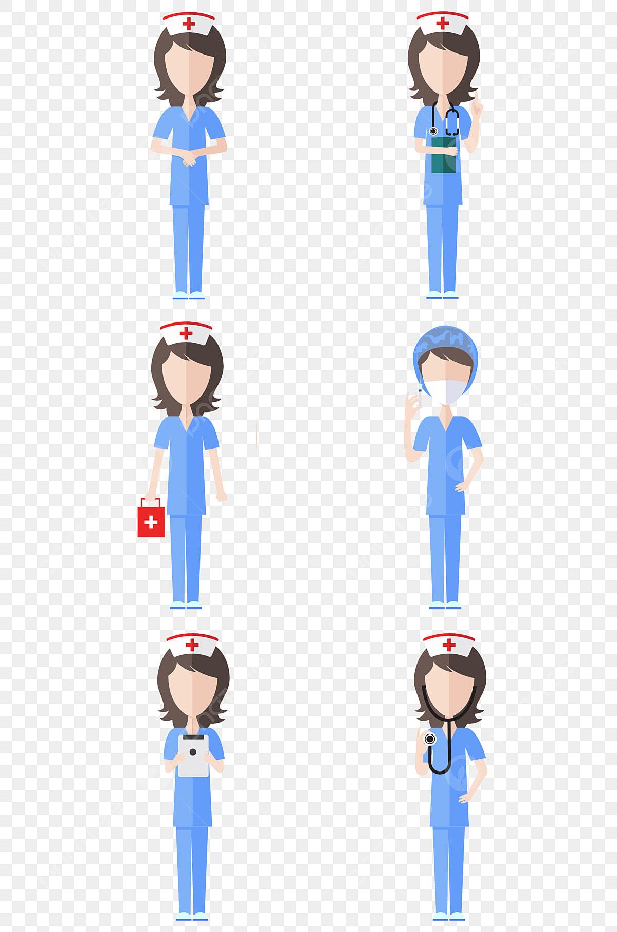 Cartoon Nurse Border Illustration, Cartoon Nurse, Red, Border PNG  Transparent Clipart Image and PSD File for Free Download
