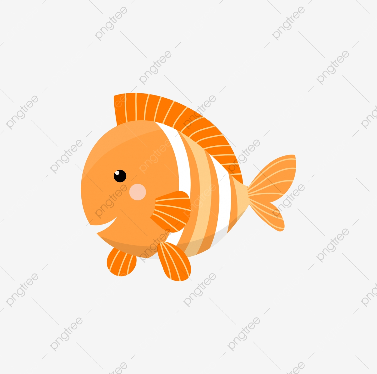 Ornamental Fish Cartoon Cute Cartoon Lovely Cute Cartoon Lovely Cartoon Png And Vector With Transparent Background For Free Download
