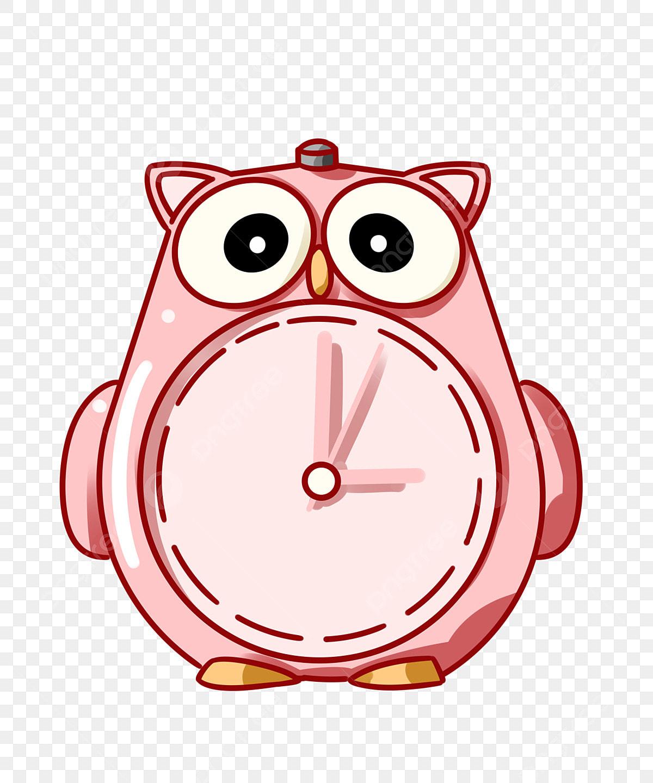 Jam Burung Hantu Jam Meja Merah Jam Kartun Burung Hantu