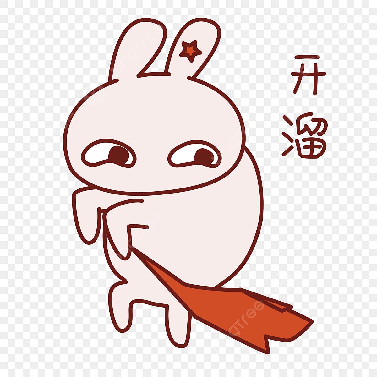 Paquete De Expresión De Conejo Pack De Emoticonos De Dibujos
