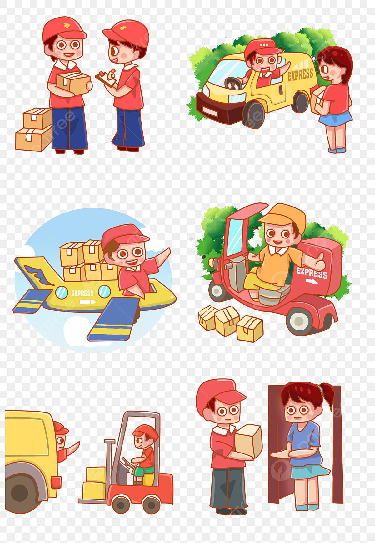 Receiving Express Send Delivery Express Car Rickshaw, Motorcycle