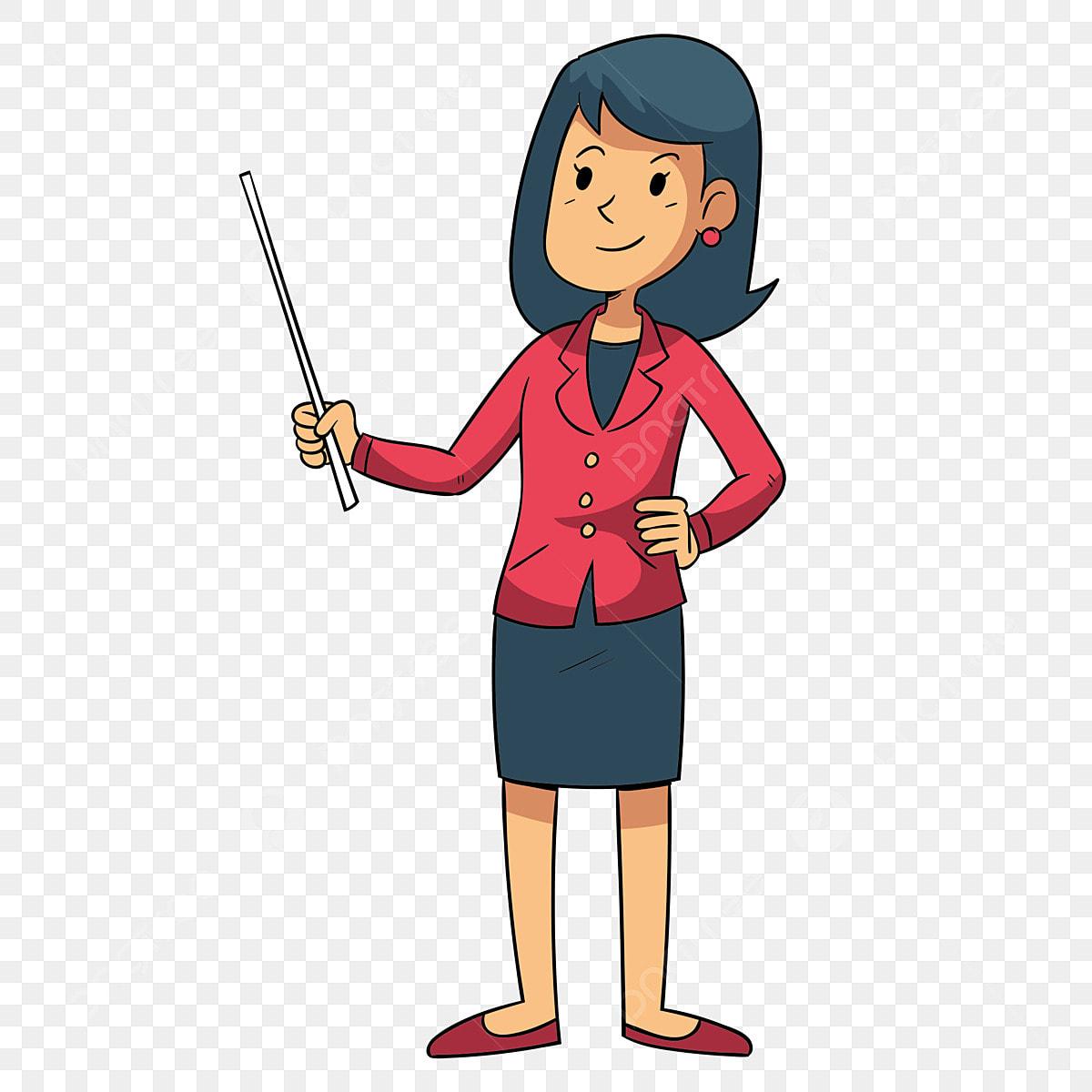 Gambar Ilustrasi Guru Sekolah Guru Dalam Kelas Ilustrasi Tangan Guru Gaya Kartun Guru Dalam Kelas Ilustrasi Guru Sekolah Watak Png Dan Psd Untuk Muat Turun Percuma