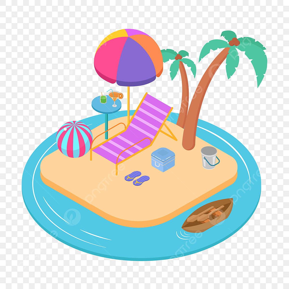 Gambar Seaside Pantai Di Tepi Laut Pantai Kartun Kartun Pantai Panas Png Dan Vektor Untuk Muat Turun Percuma