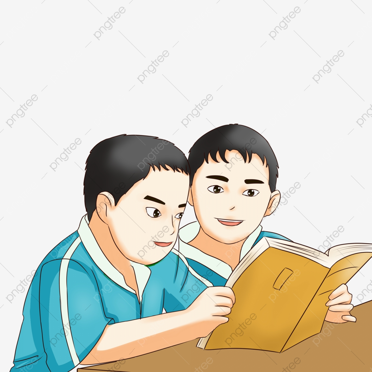 Student Child Learn Book Books Read Boy Png Transparent