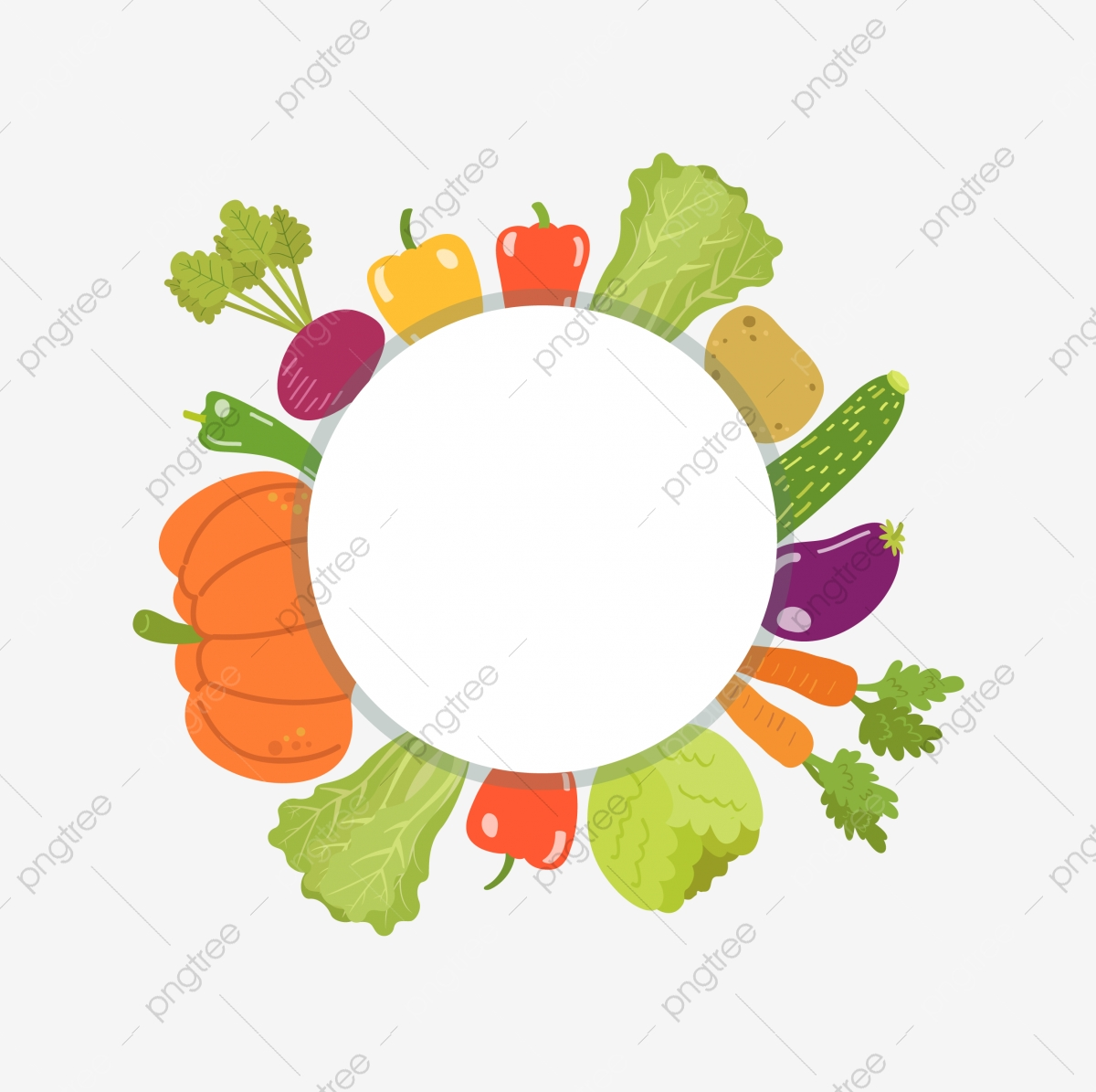 Vegetables Border Png Images Vector And Psd Files Free Download On Pngtree
